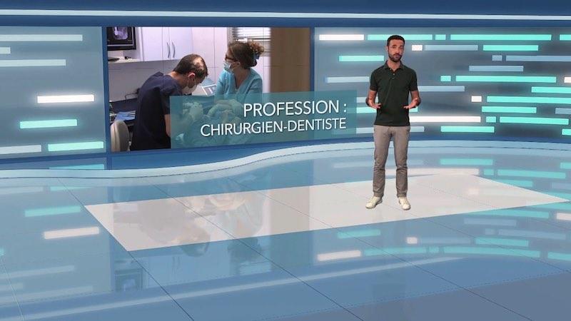 Profession : chirurgien-dentiste