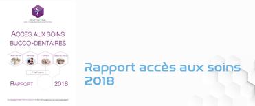 Rapport accès aux soins buccodentaires 2018